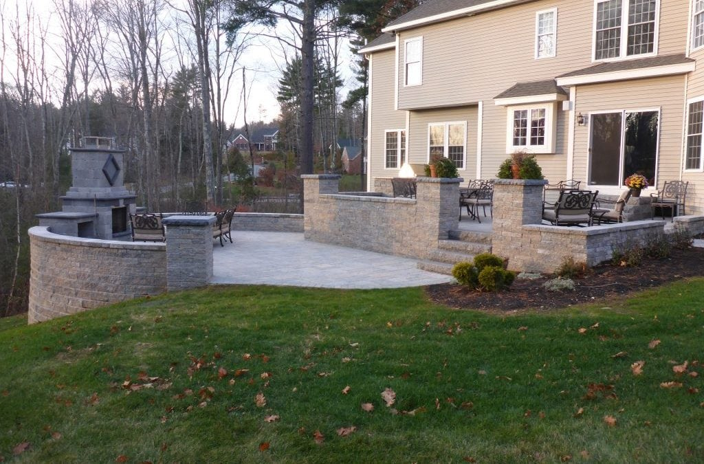 TECHO-BLOC HARDSCAPE PROJECT, BEDFORD NEW HAMPSHIRE