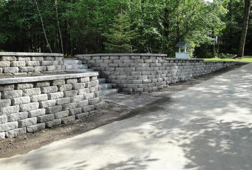 REPLACEMENT OF WALL, STEPS AND WALKWAY IN DERRY, NH