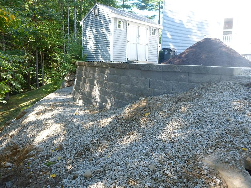 GOFFSTOWN NH, RETAINING WALL REPLACEMENT