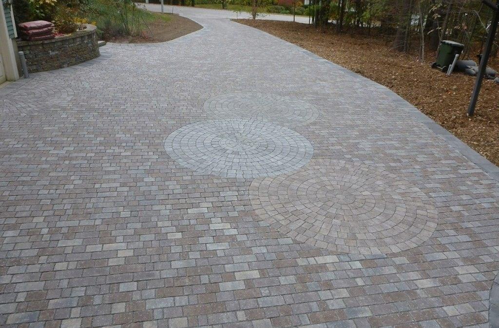 PERMEABLE PAVER DRIVEWAY, LONDONDERRY NH